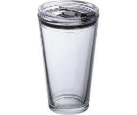 Glasbecher mit Deckel Wattenscheid